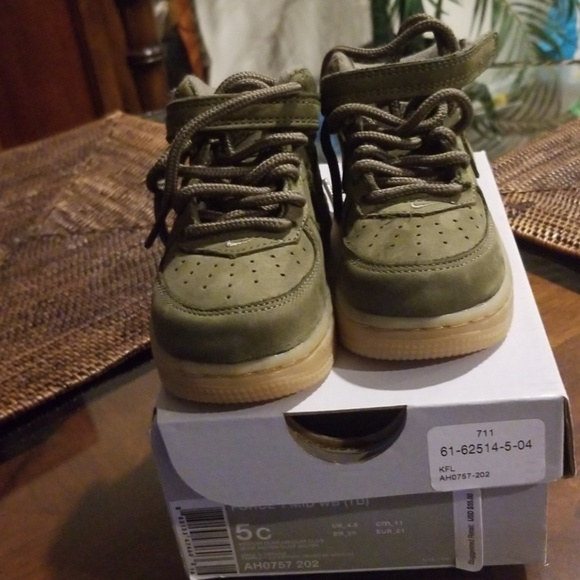 37b888d65f6 ... coupon code for nike air force 1 mid olive toddler boys shoe 7996b db163